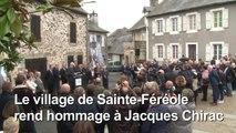 Claude Chirac rend hommage à son père à Sainte-Féréole (2)