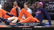 WNBA Finals Game 4 Preview: Connecticut Sun Try To Even Series