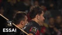 TOP 14 - Essai Jean-Marcelin BUTTIN 1 (LOU) - Lyon - Bordeaux-Bègles - J6 - Saison 2019/2020