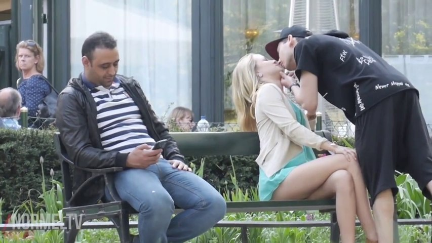 Worst Kissing Prank  Kissing Another Persons Girlfriend