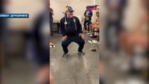 Maradona met le feu au vestiaire après la première victoire de son équipe