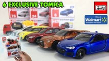 6 Walmart-Exclusive TOMICA die-cast cars in the USA (Complete 1st Wave 2019)