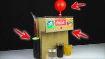 How to Make Coca Cola Soda Fountain Machine Using 3 Different WAYS