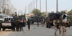 Así explota un coche bomba justo delante de un convoy militar italiano en Somalia