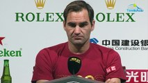 """ATP - Shanghai 2019 - Roger Federer """"feels ready to face this end of the season"""""""