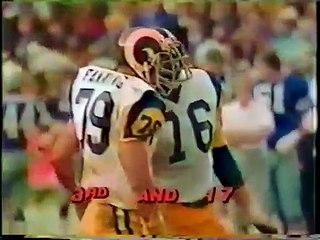NFL 1978 NFC Championship - Dallas Cowboys @ Los Angeles Rams - full Game part 3
