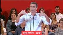 """Sánchez sobre el cambio de estrategia de Rivera: """"El pánico hace milagros"""""""