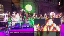 Nuit Blanche : grande parade et déambulations nocturnes mettent Paris en folie