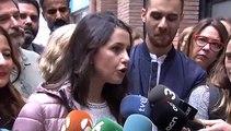 Arrimadas pide a Sánchez que rectifique y que el PSC apoye la moción de censura contra Torra