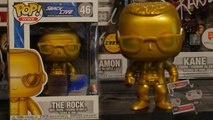 The Rock WWE Gold 20th Anniversary Edition Funko Pop Detailed Review