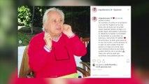 Miguel Ángel Muñoz llora la muerte de su padre artístico