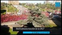 Multitudinaria maratón de la UNLP