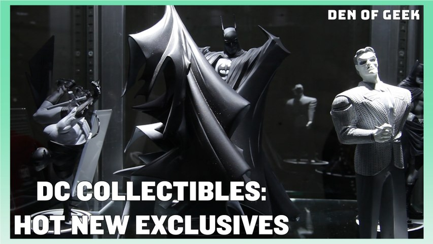 DC Collectibles' Batman: Black and White Statues | New York Comic Con 2019