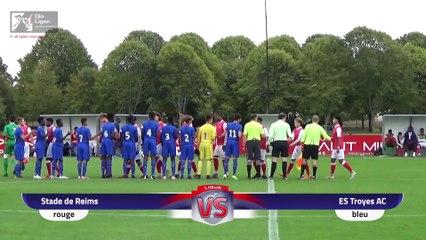 U18 R1 gr.B : Reims – Troyes (4-1)