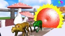 Los animales de granja y sus crías se transforman en animales salvajes y sus crías #8 parte 8