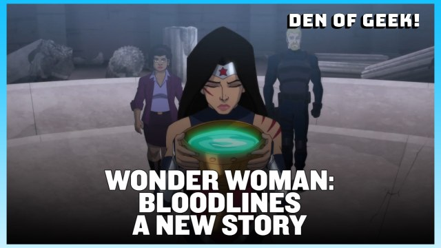 Wonder Woman: Bloodlines Cast and Producer Interviews | New York Comic Con 2019