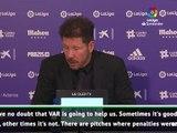 Simeone backs VAR call