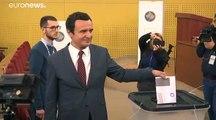 Wechsel im Kosovo: Vetevendosje liegt mit fast 26% knapp vorn