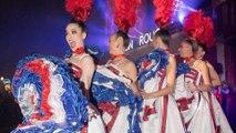 Le Moulin Rouge offre un French cancan dans la rue pour fêter ses 130 ans