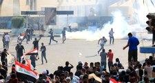 Irak'ta şiddete başvuran göstericiler ve güvenlik güçlerine soruşturma başlatılacak