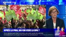 Manifestation anti-PMA pour toutes: 74.500 personnes ont défilé à Paris, selon un comptage indépendant - 06/10