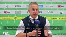 """ASSE - OL : """"Ce n'est pas moi qui peux dire si je suis l'homme de la situation"""" déplore Sylvinho"""