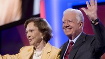 Former President Jimmy Carter Falls, Needs Stitches