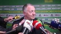 ASSE-OL : Jean-Michel Aulas envoie une petite pique à l'arbitrage