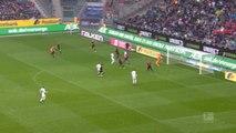 7e j . - Carton plein de Mönchengladbach contre Augsbourg, Plea buteur