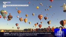 Le festival de montgolfières d'Albuquerque, aux États-Unis, a débuté dimanche