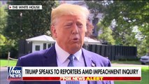 2019 OCT 04 Trump; Gaggle says Calls To Investigate Biden Is About Fighting Corruption