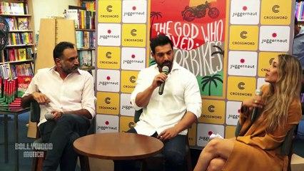 John Abraham Launches Murali K Menon's Book 'The God Who Loved Motorbikes'