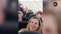 Una pelea en  avión obliga al piloto a aterrizar antes de tiempo