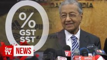 Dr M: No study to revive GST