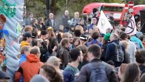 Extinction Rebellion kick off fortnight of rebellion with beacon of fire