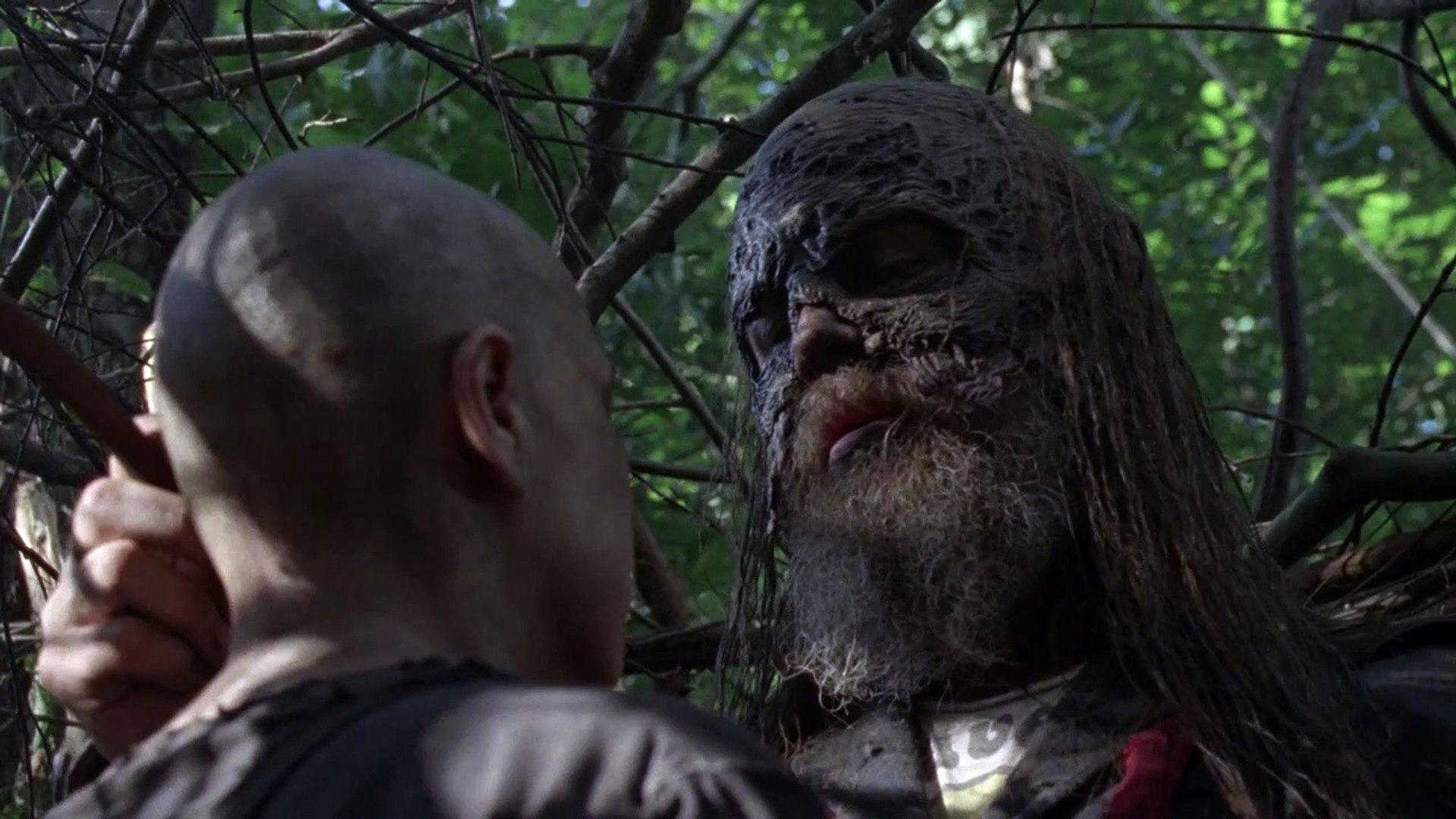 The Walking Dead 10x02 Alpha And Beta Scene Season 10 Episode 2