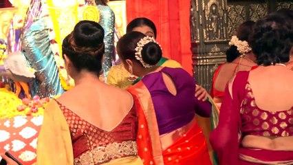 Kajol, Rani Mukherjee, Tanuja, Sumona & Others At Grand Durga Puja-3