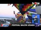Warna-warni Balon Udara di Atas Langit Albuquerque