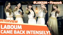 [Pops in Seoul] Falling in love! LABOUM(라붐)'s Interview for 'Firework'