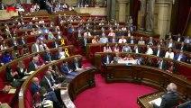 """Ciudadanos defiende la moción de censura contra Torra porque """"la convivencia está en peligro"""""""