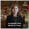 Devenez membre du Conseil Parisien de la Jeunesse. Témoignage de Clara Martin.