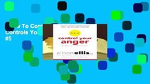 How To Control Your Anger Before It Controls You  Best Sellers Rank   #5