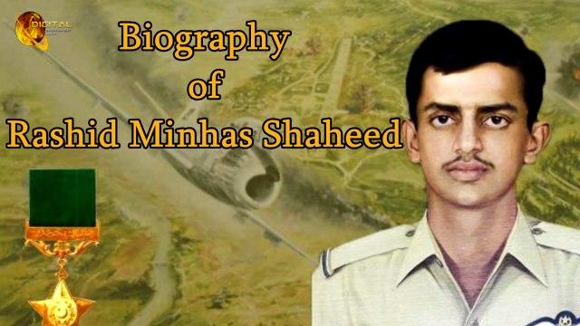 Shaheed Rashid Minhas - Biography - Life story - HD
