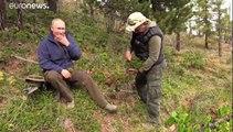 شاهد: بوتين يحتفل بعيد ميلاده 67 في جبال سيبيريا