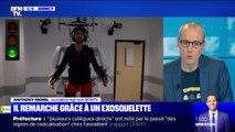 Un jeune homme tétraplégique a pu remarcher grâce à un exosquelette