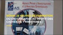 Bénin: 25 heures de formation du groupe Apias au profit des cadres de 7 ministères