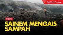 Kisah Sainem yang Mengais Sampah di Asap Kebakaran TPA Putri Cempo