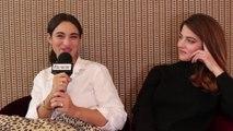 Sœurs d'Armes : Rencontre avec 2 des actrices du film , Camélia Jordana et Esther Garrel