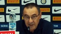 Football - Conferenza Stampa Maurizio Sarri Post Partita Inter Juventus 1-2
