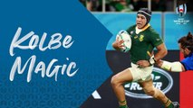 Cheslin Kolbe has magic feet! - Rugby World Cup 2019